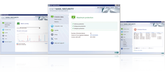 ESET Mail Security for Microsoft Exchange Server Virusbeskyttelse Spambeskyttelse